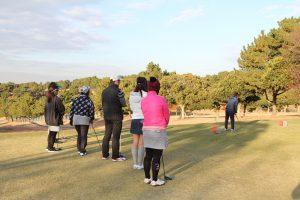 ゴルフ場体験ツアー9