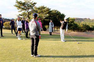 ゴルフ場体験ツアー8