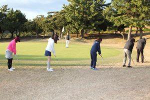 ゴルフ場体験ツアー12
