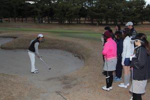 ゴルフ場体験ツアー13
