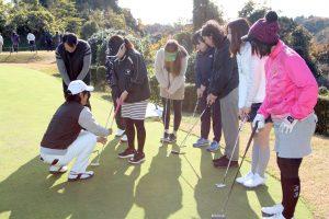 ゴルフ場体験ツアー4
