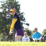 ゴルフコースでの女性を含む際の打順の決め方