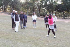 ゴルフ場体験ツアー11