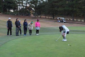 ゴルフ場体験ツアー14
